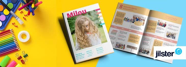 Goede Lespakket Jilster: Een tijdschrift maken DQ-94