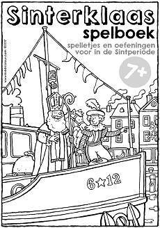 Sinterklaas Werkboekje Groep 3 5 Kiddikleurplaten
