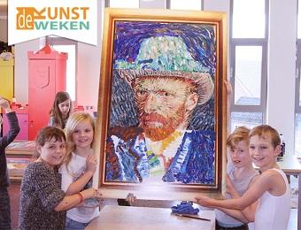 Spiksplinternieuw De Kunstweken | kunstproject | Van Gogh | Mondriaan | Picasso | Haring WW-78