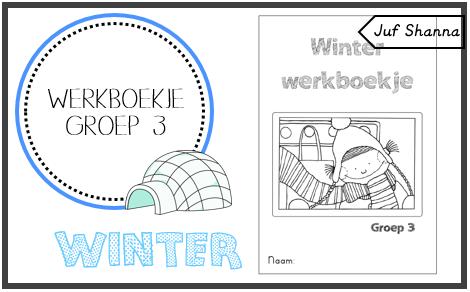 Genoeg winter werkboekjes van juf Shanna #UC39