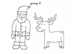 Kerst Kleurplaten Bert En Ernie Sommen Kleurplaat Kerst Groep 3